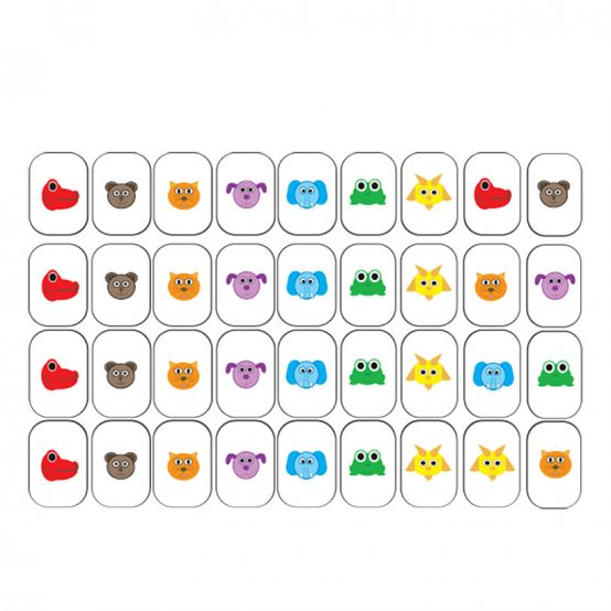 Animal Notes Stickers for Piano Keys