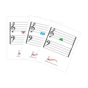3 x 3.5 Animal Note Flash Cards