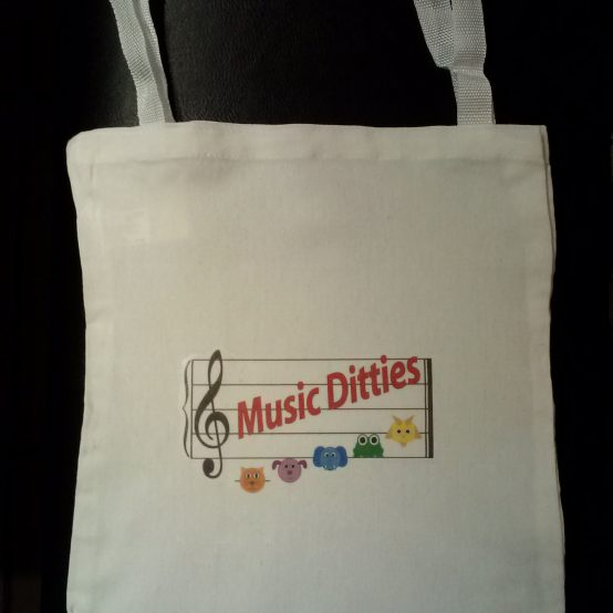 Music Ditties Tote Bag